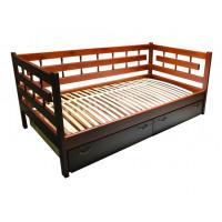 Кровать Сакура три спинки из березы