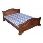 Кровати с изголовьем из массива