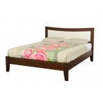 Односпальные кровати с мягким изголовьем