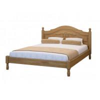 Кровать Филенка с рисунком из березы