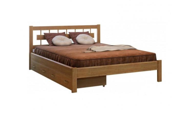 Кровать Сакура-2 из массива березы