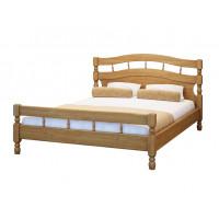 Кровать Солнце из массива березы
