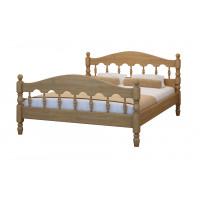 Кровать Точенка из массива березы