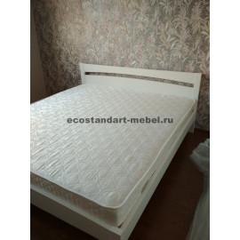 Кровать Селена,цвет белый