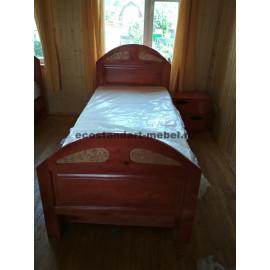 Кровать Галатея 90х200,цвет мокко-2
