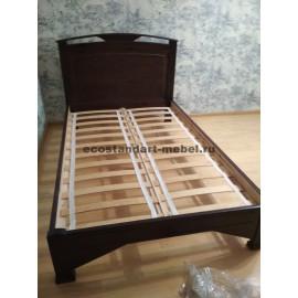 Кровать Омега-1,классический орех-3