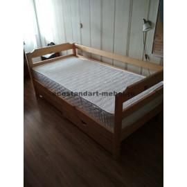 Кровать Детская,старый орех-1