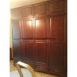 Шкаф по эскизу,цвет старый орех-3
