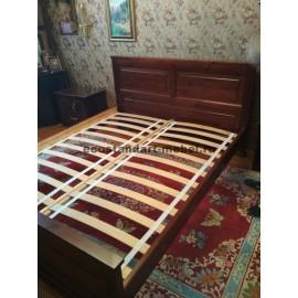 Кровать Лирон,старый орех-3