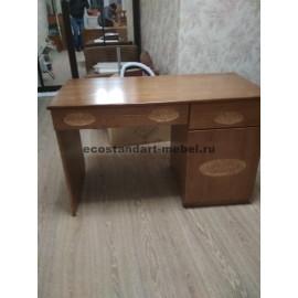 Стол письменный галатея,коричневый-2