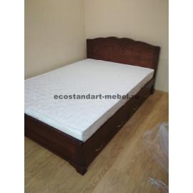 Кровать Муза,старый орех-3