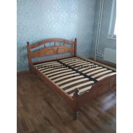 Кровать Солнце№2,коричневый-2