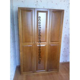 Шкаф 3-х створчатый,цвет классический орех-2
