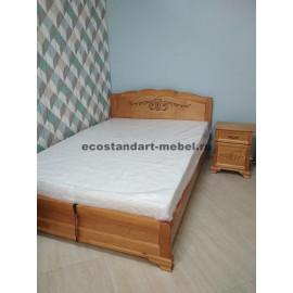 Кровать Муза с подъемным механизмом,старый орех-2