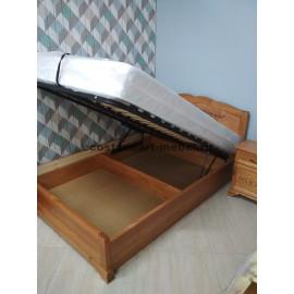 Кровать Муза с ПМ,старый орех-2