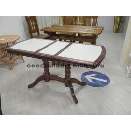 Стол №19 с керамогранитом,цвет венге-2